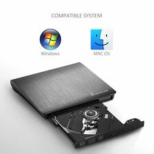 Laptop Notebook CD DVD RW USB 3,0 Brenner Slim DVD Combo USB extern Laufwerk