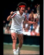 JOHN MCENROE Signed TENNIS Photo w/ Hologram COA w/ QUOTE RARE