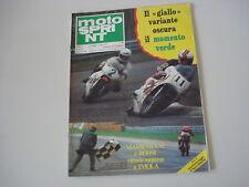 MOTOSPRINT 21/1978 MOTORE ANCILLOTTI 50 7 MARCE/MOTO SHIFTY 900