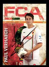 Paul Verhaegh Autogrammkarte FC Augsburg 2013-14 Original Signiert+A 171664