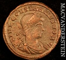 Constantine II AD337-340 19mm Rev Two Soldiers Two Standards  #Y2014