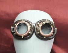 New Copper colored Metal Steampunk Goggles from RQ-BL in the original box