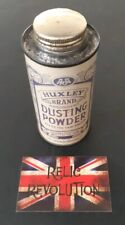 Vintage Huxley Brand Dusting Powder Tin.. Advertising/Collectable/Prop