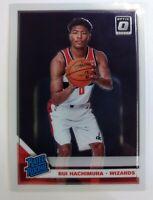 2019-20 Panini Donruss Optic Rated Rookie Rui Hachimura RC #188, Wizards