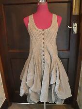 Beautiful All Saints Jezabel Dress Striped Size 6 Excellent Condition