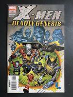 Marvel Comics X-Men Deadly Genesis #1 1st App of Vulcan Silvestri Variant Cover