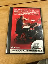 John Wakerman Drum Duets Vol 1 Dvd