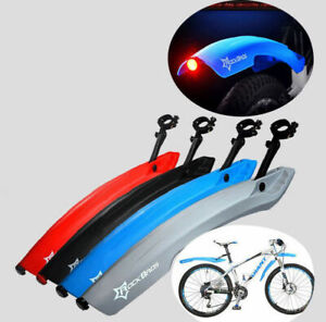 ROCKBROS MTB Fahrrad Schutzbleche Set Vorne + Hinter Kotflügel Gummi 4 Farbe Neu