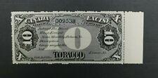 Canada Tobacco Stamp U