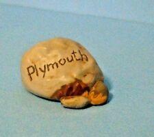 Hallmark Merry Miniature 1993 Plymouth Rock - Thanksgiving - Gold Seal