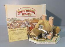 "1991 David Winter Cottages ""Moonlight Haven"" Figure / Sculpture"