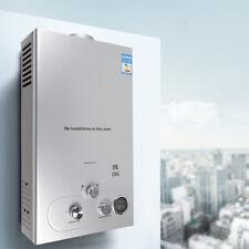10L Edelstahl Natural Gas Durchlauferhitzer Warmwasserbereiter+Shower Kit 36 KW