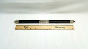 Antique French presentation baton in ebony & silver to M. Gefrez of Combeautaine