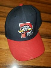 Portland Sea Dogs Used Red Blue Hat
