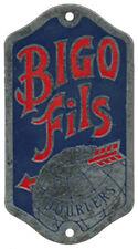 CYCLES VELO BIGO FILS, DROULERS, en métal peint