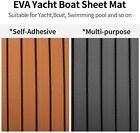 Us Eva Foam Teak Boat Decking Sheet Sea Deck Marine Yacht Boat Flooring Mat