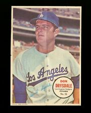 1967 Topps Posters Inserts Set Break # 16 Don Drysdale *GMCARDS*