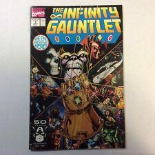 Infinity Gauntlet 1 First Print Thanos George Perez High Grade