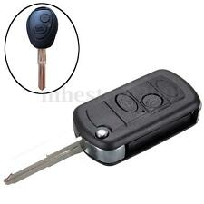 2 Buttons Folding Flip Remote Key Case Fob For Land Rover Discovery 2 1998-2004