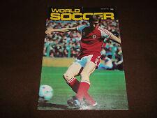 Fútbol Revista World soccer. ENERO 1981. Saint-Etienne allodi ISRAEL deyna