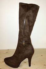 JOHN LEWIS - HONEY TAUPE KNEE HIGH BOOTS - SIZE 6 - 20,000+ FEEDBACK! BB179