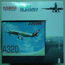 "Dragon Wings 1/400 TAM Airlines Airbus A320 ""BRAZIL NATIONAL TEAM"" model +Runway"