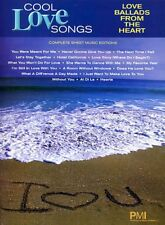 COOL LOVE SONGS BALLADS FROM THE HEART PIANO SONG BOOK KEYBOARD SONGBOOK