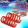 """FOR 2015-2018 FORD MUSTANG 4PCS RED 1""""DROP FRONT+REAR SUSPENSION LOWERING SPRING"""