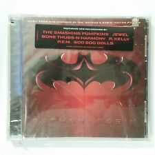 BATMAN & ROBIN Soundtrack 9362466202 SEALED Hype Notch CD Compact Disc