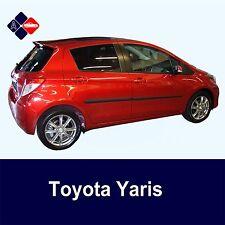 Toyota Yaris Mk3 5D Rubbing Strips | Door Protectors | Side Mouldings Body Kit
