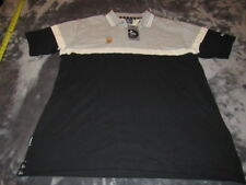NWT Guinness Mens Black Short Sleeve England Rugby Collared Polo Shirt Size XL