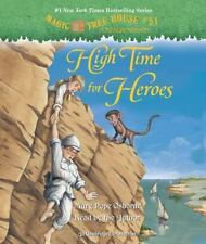High Time for Heroes Magic Tree House #51 Mary Pope Osborne unabridged audio New