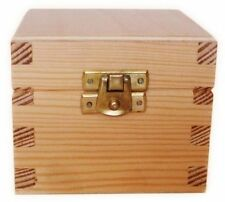 Wooden Lidded Small Home Storage Boxes