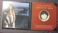 Linda Ronstadt Greatest Hits 1 & Hasten Down The Wind LP EX/VG+ LOT of 2