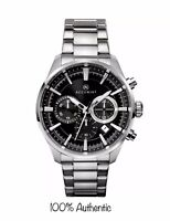 Accurist Gents Chronograph Stainless Steel Bracelet Watch 7194 New With Box