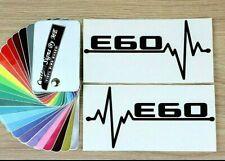 2x BMW E60 EKG Car Side Window Mirror Stickers Bumper Vinyl Decal Adhesive