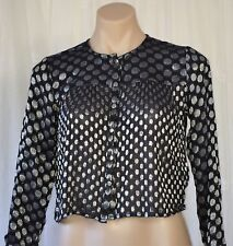 REBECCA THOMPSON SIZE I SILK BLEND TOP/JACKET