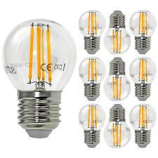10er E27 4W LED Filament Lampen Birne Glühbirne Leuchtmittel 400Lumen warmweiss