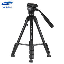 60 Inches Video Tripod Fluid Head Camera DSLR Monopod For Canon Nikon Panasonic