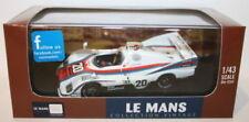 Véhicules miniatures blancs IXO pour Porsche
