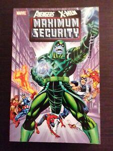AVENGERS / X-MEN MARVEL TPB MAXIMUM SECURITY