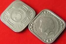 5 cent penning vierkant : Koningin Juliana 1948-1978 (30)