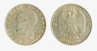 s1546_2) Yugoslavia 20 dinara 1938 Petar II - Silver
