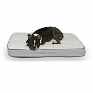 """K&H Pet Products Memory Sleeper Pet Bed Gray 23"""" x 35"""" x 3.75"""""""