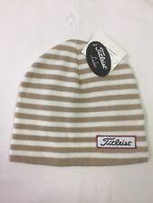 Titleist Ladies Winter Stripes Beanie Hat NWT