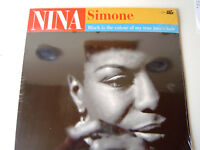 Nina Simone  LP  Black Is Colour Of My True Loves Hair NEW-OVP