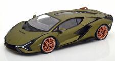 1:18 Bburago Lamborghini Sian FKP 37 2020 matt-olive