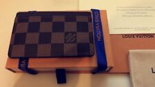 Louis Vuitton Damier Ebene Canvas Card Holder | Brand New Boxed & Papers!