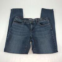 Eddie Bauer Women's Boyfriend Medium Wash Slim Leg Jeans Size 4