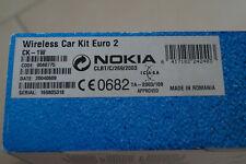 Nokia CK - 1W CarKit Bluetooth Hands-Free Freisprecheinrichtung Universal